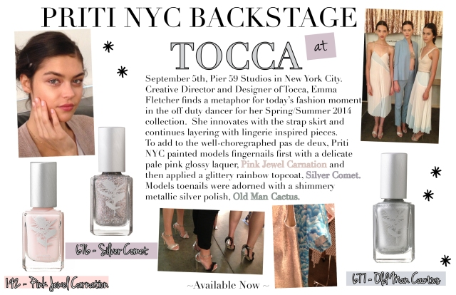 Priti NYC_Tocca_SS14